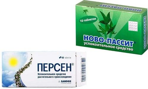 К популярным седативным препаратам относят, например, Новопассит или Персен