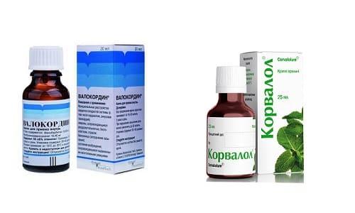 Корвалол или Валокордин часто применяются при заболеваниях сердца