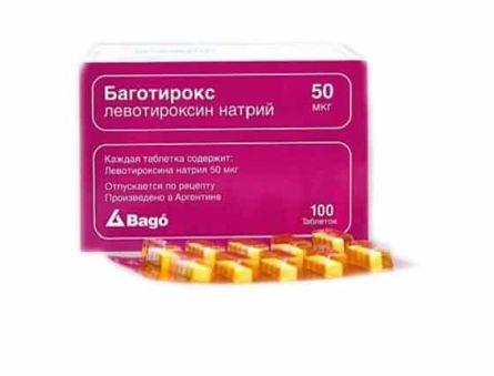 Гормональный препарат Баготирокс