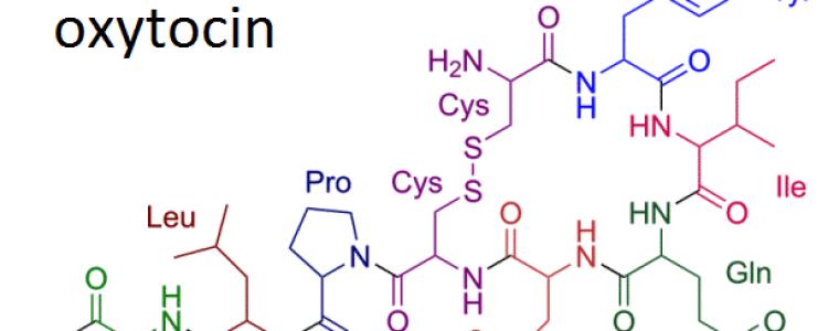 Окситоцин (Oxytocinum)- описание вещества, инструкция, применение, противопоказания и формула