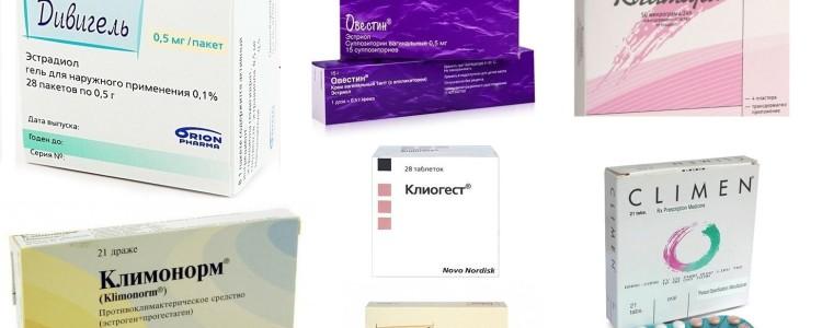 Препараты заместительной гормональной терапии при климаксе : за и против