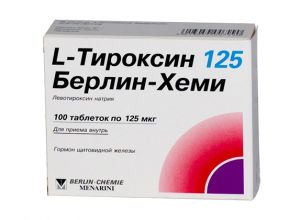 Показания и способы применения L-тироксина