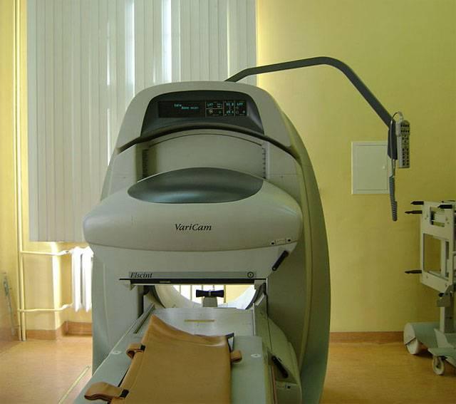 Устройство для сцинтиграфии щитовидной железы