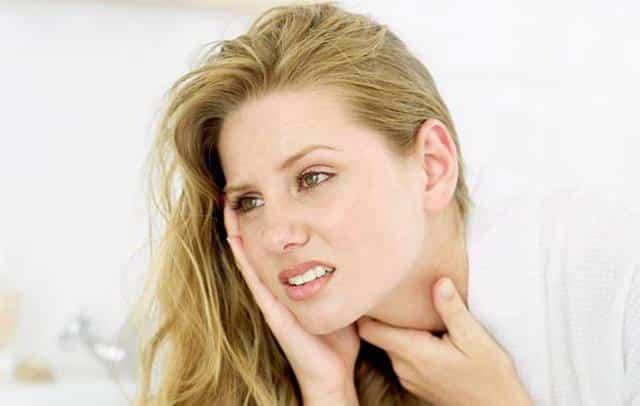 Симптомы изменения в щитовидной железе