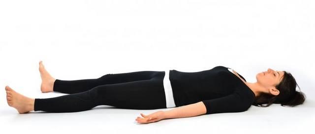 Йога при гипертиреозе: Шавасана - Поза трупа