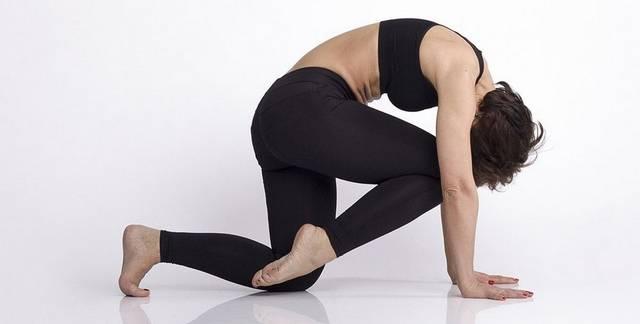 Йога при гипотиреозе: Марджариасана - Поза кошки