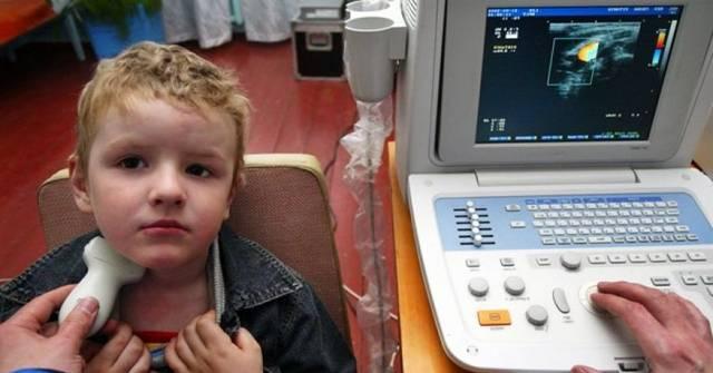 Рак щитовидной железы у детей