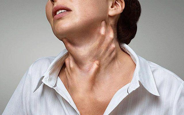 Удушье в области щитовидной железы