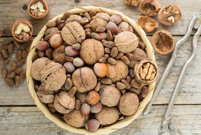 Лечение орехами при заболеваниях щитовидной железы