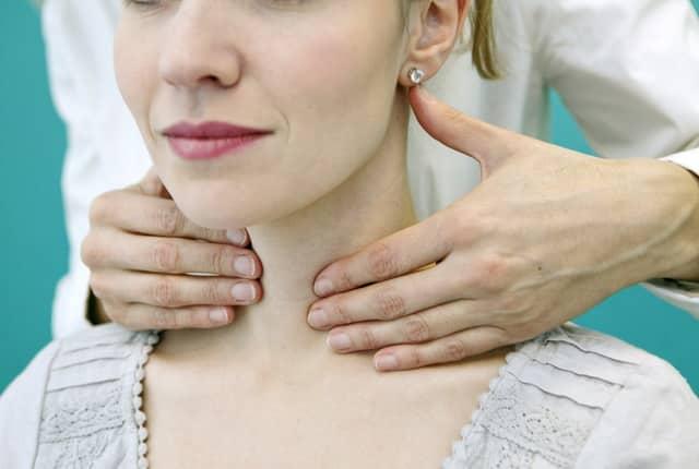 Пальпаторное исследование тканей железы