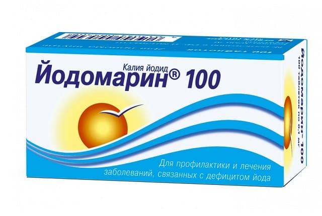 Использование Йодомарина от заболеваний щитовидной железы