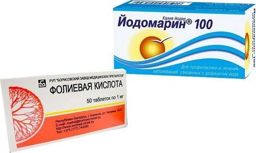 Эффективность одновременного приема лекарственных средств связана с тем, что данная кислота помогает организму лучше усваивать йод