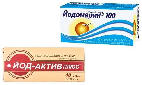 Йодомарин или Йод-Актив назначается пациентам, в организме которых наблюдается недостаток йода - микроэлемента, необходимого для здоровья щитовидной железы
