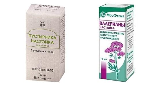 Проверенными успокаивающими лекарствами являются, например, настойка пустырника и валерианы