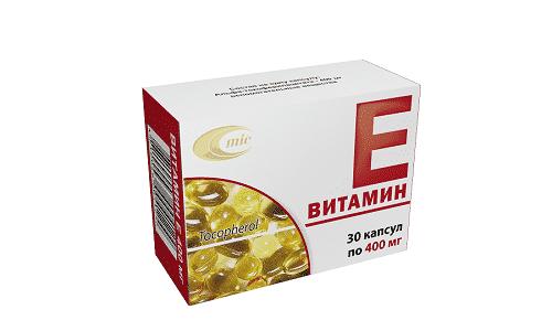 Витамин Е помогает улучшить работу сердечно-сосудистой и нервной систем