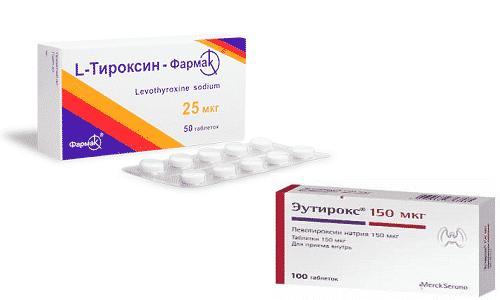 Эндокринологи рекомендуют пациентам, страдающим гипотиреозом, препараты Эутирокс или Л-Тироксин