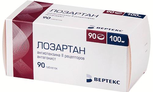 Лозартан используется для профилактики развития инсульта