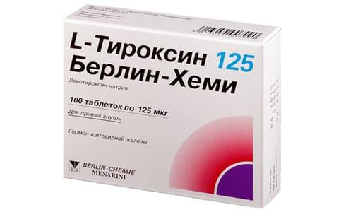 Л-Тироксин показан при заместительной гормональной терапии для профилактики рецидивов зоба после проведенной резекции
